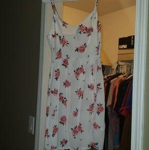 NEW flower print dress